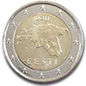 Estonia Euro Coins Daily Updated Collectors Value For Every Single Coin Tv The Online Eurocoins Catalogue